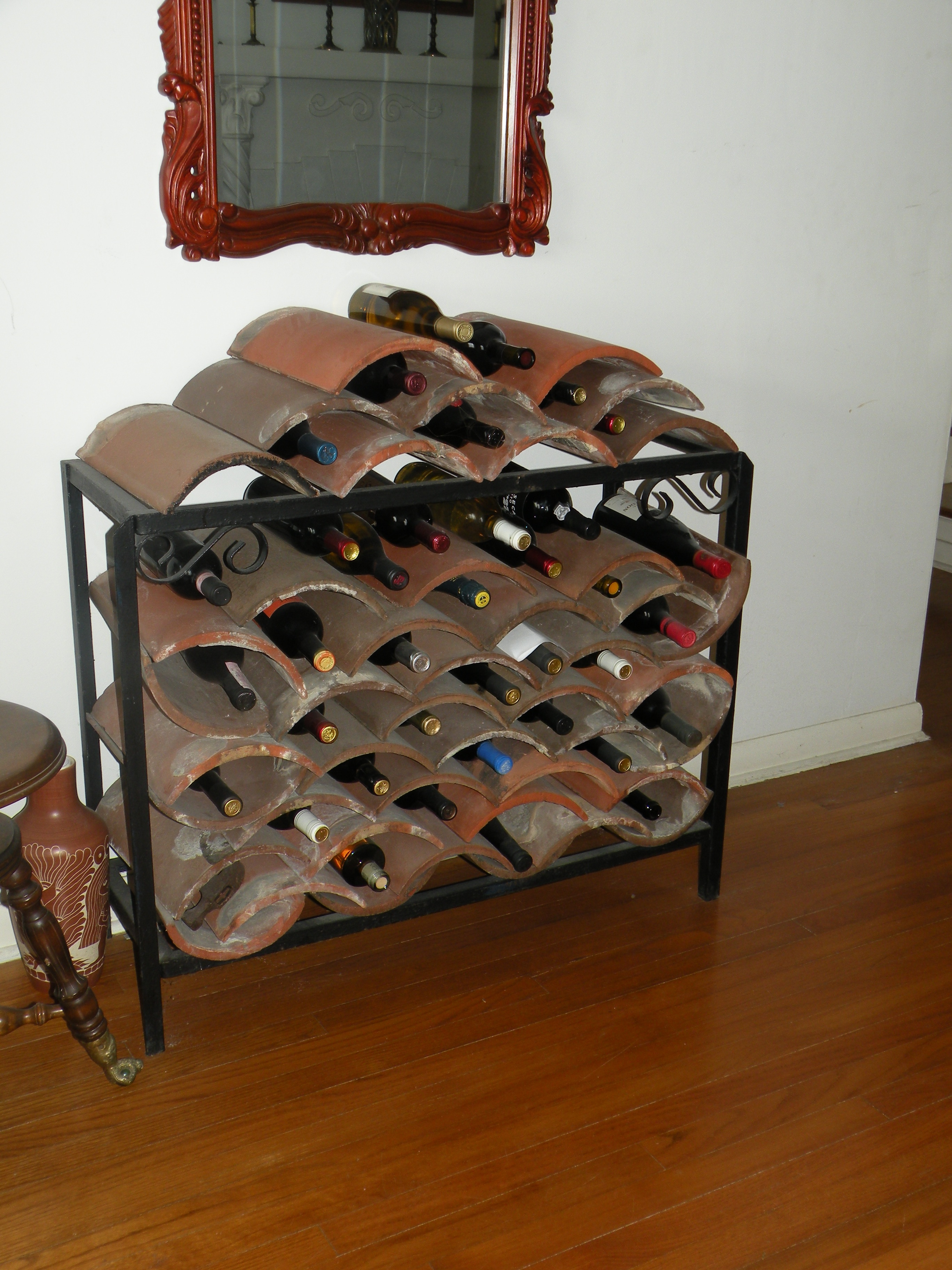 Diy wine rack for How to make a simple wine rack
